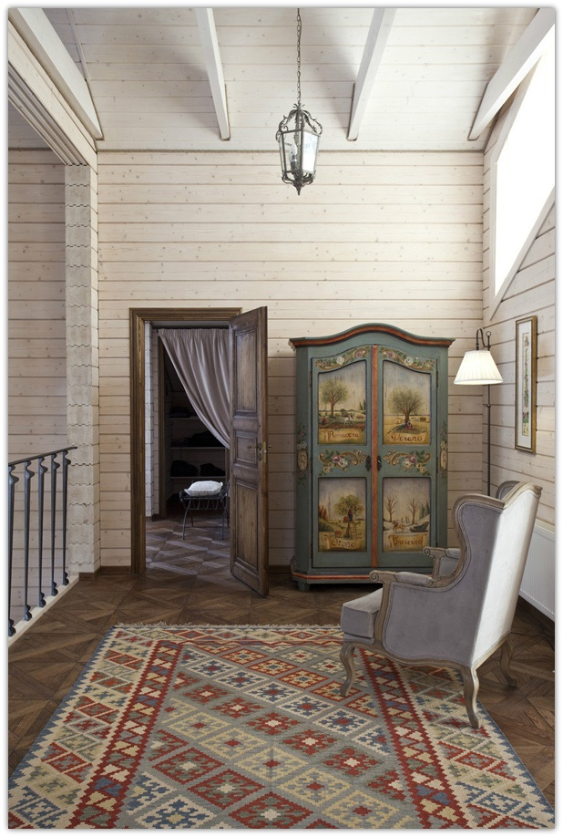 Provencal Russian Style #interior In A House Outside Of #Moscow