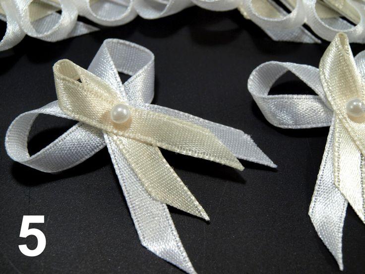 Svatební mašličky šíře 35mm