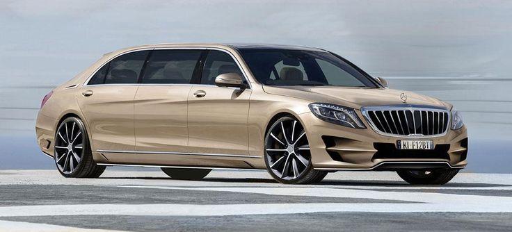 ARES Atelier Presents Custom Mercedes-Benz S-Class XXL
