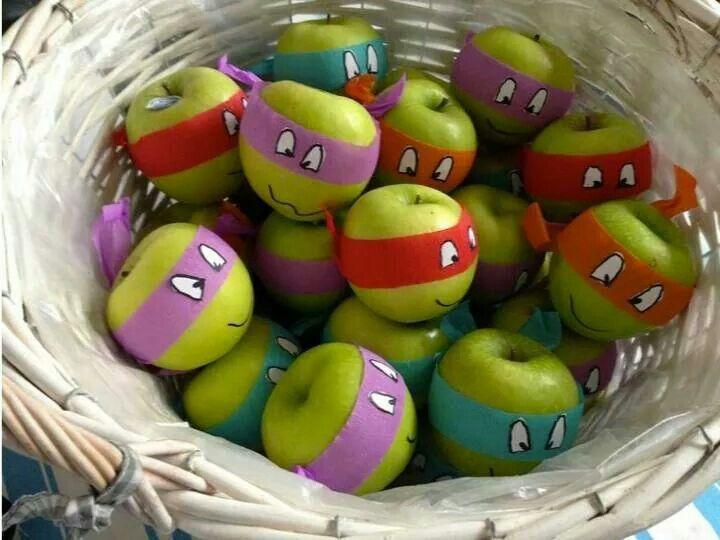 Nija turtle apples