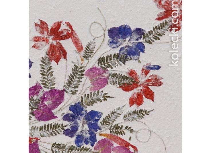duży EKO album Madagaskar 20 kartek - kwiaty 10