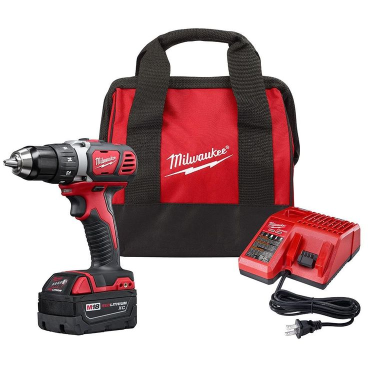 Milwaukee 260621P M18 1/2 in. Drill Driver 1 Battery XC