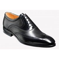 Barker Shoe Style: Bakewell - Black Hi-Shine / Nappa