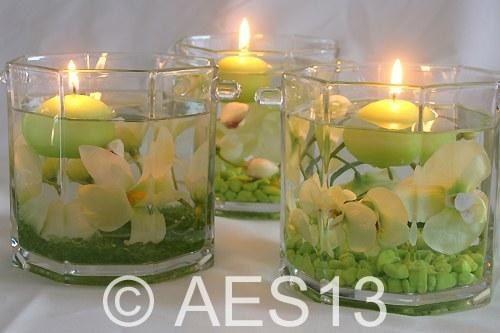 décoration zen bougies | Idées déco mariage - Déco florale : Album photo - aufeminin.com