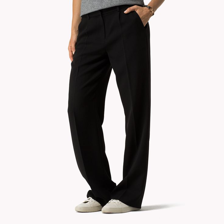 Shop the black wide leg trousers and explore the Tommy Hilfiger clothing collection for women. Free returns & free delivery over 90,00 €100. 8718939683981