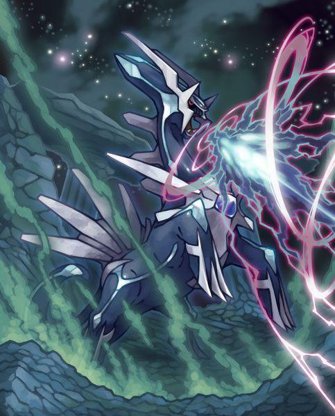Dialga - Dragon/Steel - Deity of Time