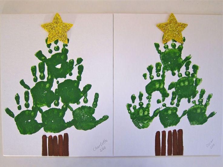 1000+ Ideas About Handprint Christmas Tree On Pinterest