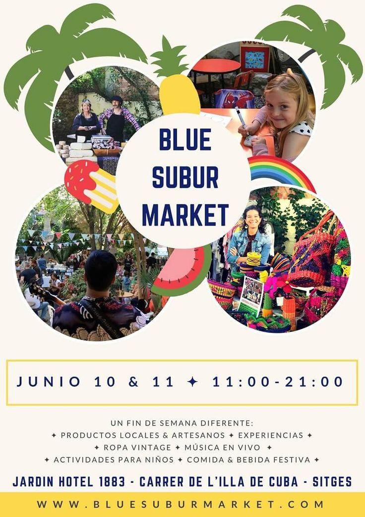 Blue Subur Market: el market de junio que no te puedes perder #bluesuburmarket #market #fashionmarket #moda #sitges #igerssitges #catalunya #igersbcn #catalunyaexperience #descobreixcatalunya