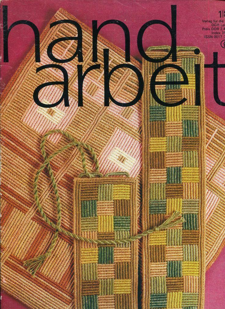 """Cover of magazine """"handarbeit"""" 1 / 1981"""