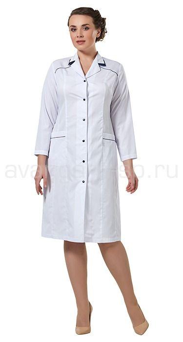 """Халат женский LL1110 Lantana / Халаты / Женская одежда """"Lantana"""" / Медицинская одежда"""