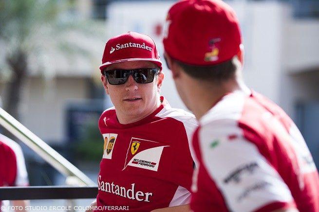 Räikkönen e Vettel fanno nitrire i Cavallini di Maranello nelle prime libere del GP del Bahrain: tutti dietro
