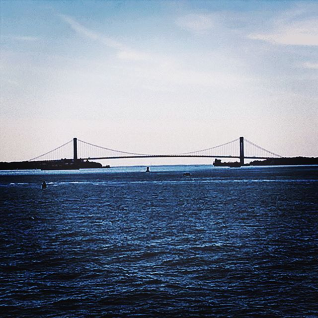 Into the blue . . . #ny #nyc #nycity #newyork #newyorkcity #manhattan #brooklynbridge #blue #water #nature #photography #picoftheday #photooftheday #nyph #nyphotography #newyorkph #newyorkphotography #travel #traveler #travelgram #traveling #travelingram #travelingram_click
