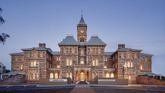 Grand old Adelaide - Administration Building, Glenside Hospital