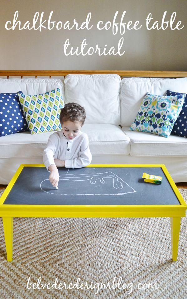 the 25 best chalkboard coffee tables ideas on pinterest