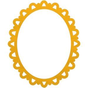 Silhouette Design Store - View Design #16341: oval picture frame