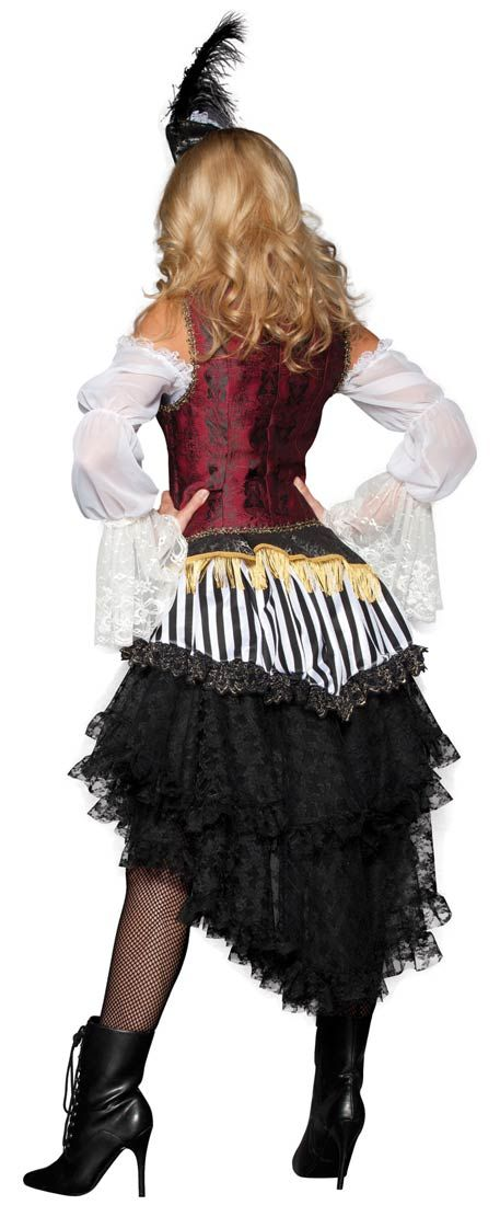 Super Deluxe High Seas Treasure Adult Costume - Pirate Costumes