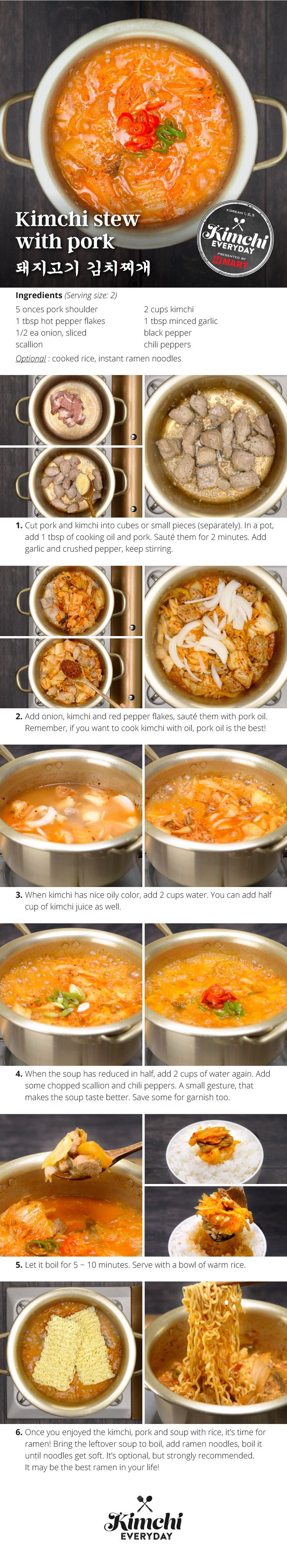 153 best korean food recipes images on pinterest korean food hmart presents how to make delicious kimchi stew with pork forumfinder Image collections