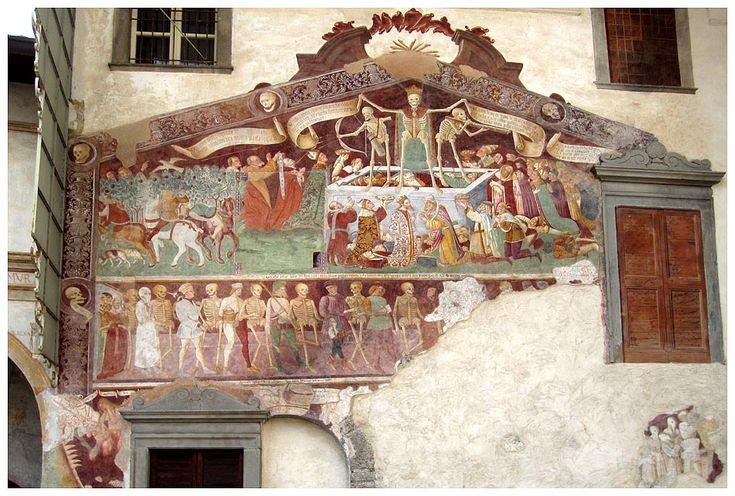 Trionfo della morte e la danza macabra, Oratorio dei Disciplini, Clusone, Val Seriana, Bergamo