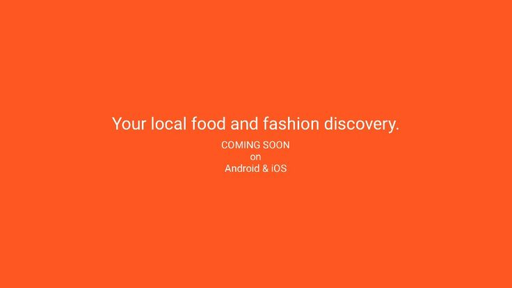 Your local food and fashion discovery is coming soon to Android and iOS. Visit www.eyelocal.co to get early access. #local #food #fashion #android #ios #comingsoon #app