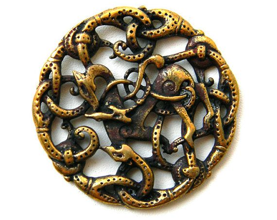 Pendant Vikings pendant  viking jewelry bronze replica by Glucks, $33.00