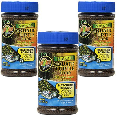 Zoo Meds Aquatic Turtle Food adds a nice high protein treat to your turtles diet with the addition of dried shrimp and mealworms. We also add whole cranberries which are a natural food item of many No...