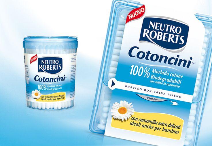 Packaging design Cotoncini