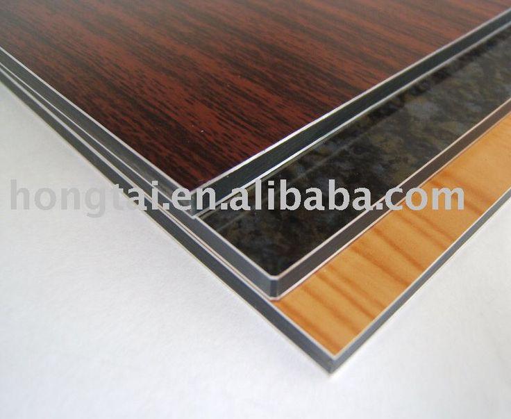 High Quality Wood / Granite Grain Aluminum Composite Panel