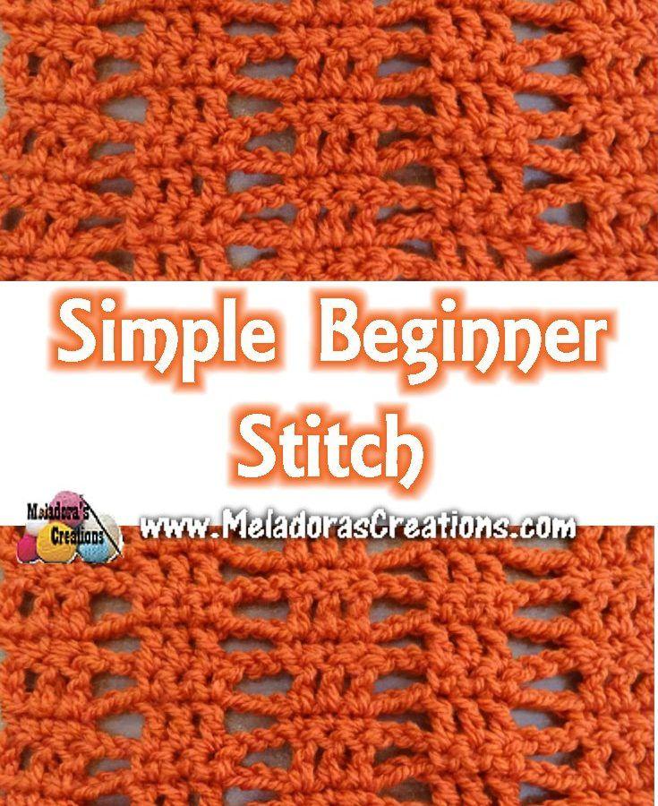 Beginner Crochet Stitch Tutorial : 637 best images about Crochet Stitches on Pinterest ...
