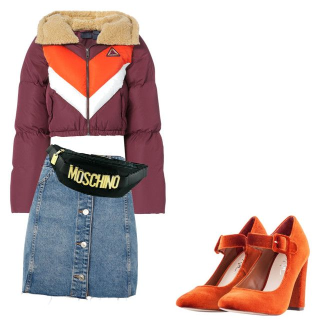 Cold Days in the Meat Packing District by princessaseelah on Polyvore featuring polyvore, мода, style, Puma, Topshop, Nasty Gal, Moschino, fashion and clothing