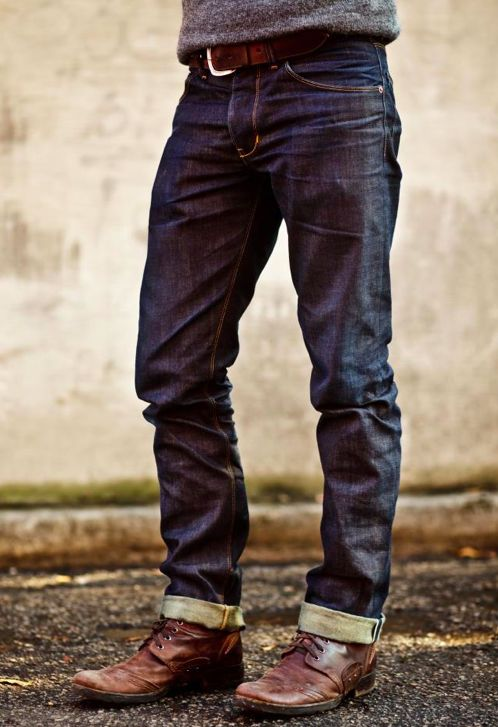 Wear this, not that. - Raleigh Denim organic, handcrafted #men #eco #ethical #clothing When you must buy new.