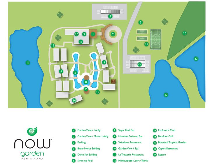 Now Garden Punta Cana Resort Map ~ Unlimited Vacation Club