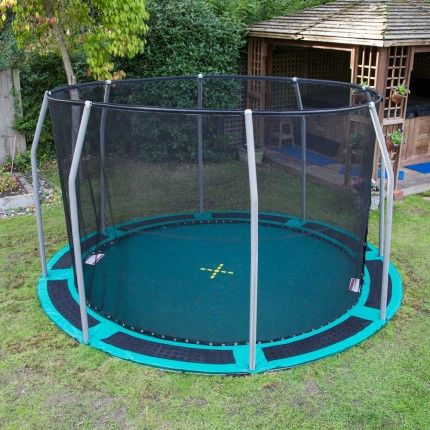 10ft Capital Inground Trampoline Kit | Capital Play.