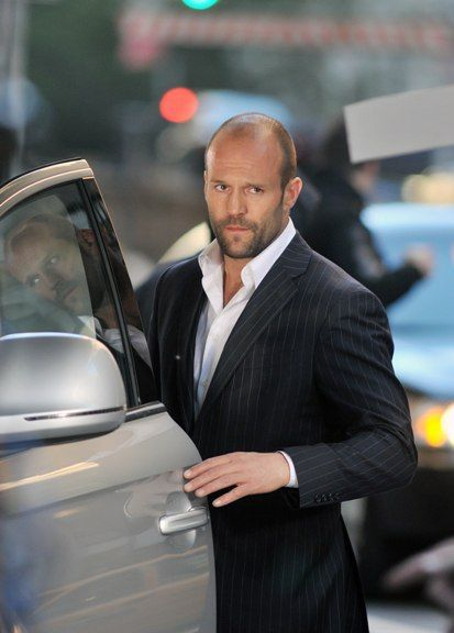 Jason Statham - if only he'd leave me like this!