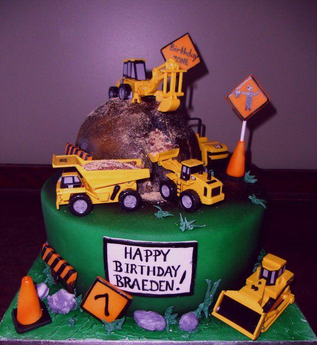 Birthday Party Ideas Augusta Ga: 17 Best Ideas About Construction Theme Cake On Pinterest