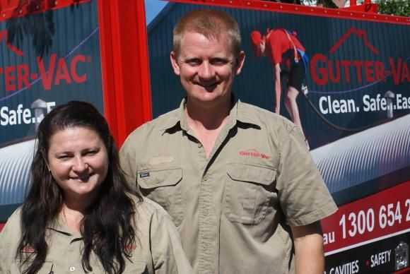 Over in Western Australia, Thomas and Sarella Kessel are busy cleaning gutters, solar panels, ceiling cavities. We recently caught up with them between jobs, and had a chat about what life as a Gutter-Vac franchisee is like.
