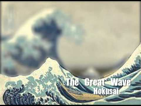 """This video reviews the important parts of an artwork that students should generally include for it to be considered complete. Including Foreground, Middleground, Background, and overlap help develop the sense of depth in a work of art.    CORRECTION: in Hokusai's """"Great Wave"""" image, the background is Mount Fuji, not a wave."""