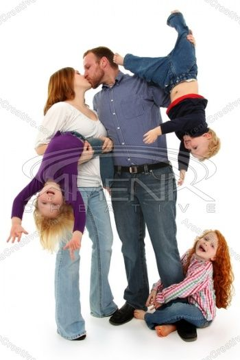 Definitely not your traditional family portrait! #ideas #inspiration #photography http://arenacreative.com for more!