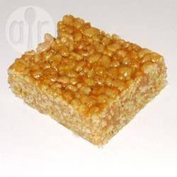 Foto de la receta: Barras crujientes de arroz inflado
