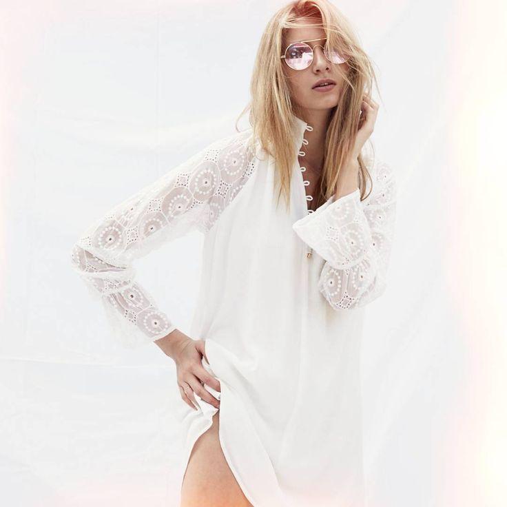 #winonaaustaralia #winonalove #fashion #beauty #white #dress #ootd #look #sun