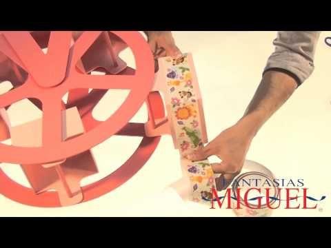 Cómo hacer un Carrito de Dulces Tipo Mercadito (METVC) - YouTube