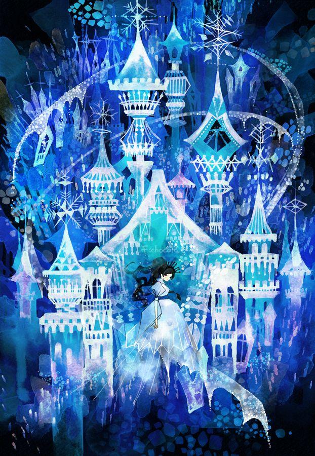 氷の城 by 池田 優 | CREATORS BANK http://creatorsbank.com/ikedayu/works/285295