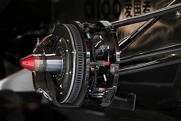 Brakes - McLaren MP4/25 brake detail.  Formula One World Championship, Rd 5, Spanish Grand Prix, Preparations, Barcelona, Spain, Thursday, 6 May 2010