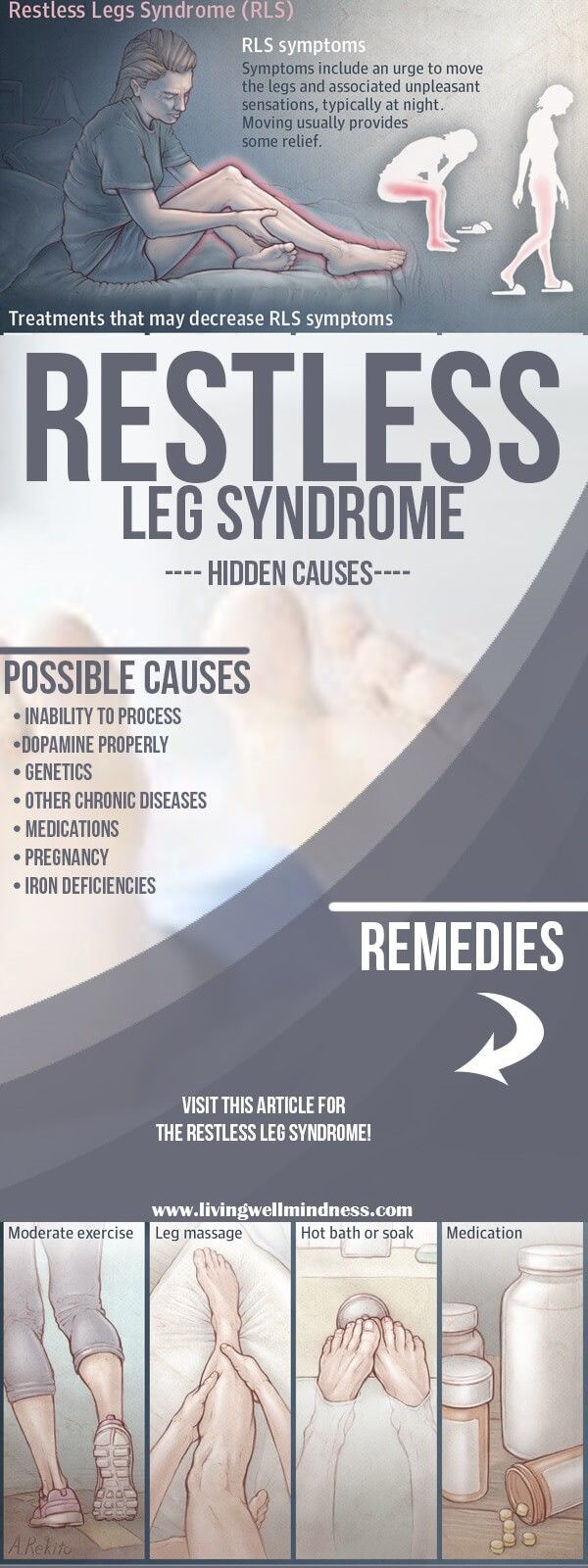 Best 25+ What causes restless legs ideas only on Pinterest | Rls ...