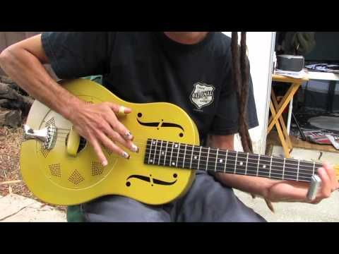 Beginner Blues Slide Guitar Lesson - Acoustic Blues Guitar Lessons - YouTube