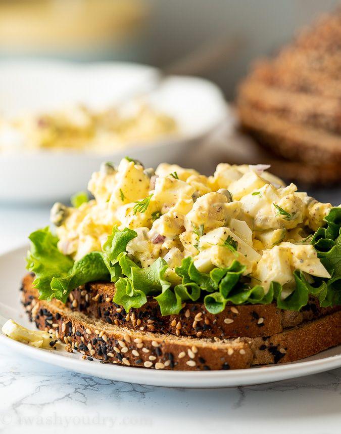 Egg Salad Recipe Capers