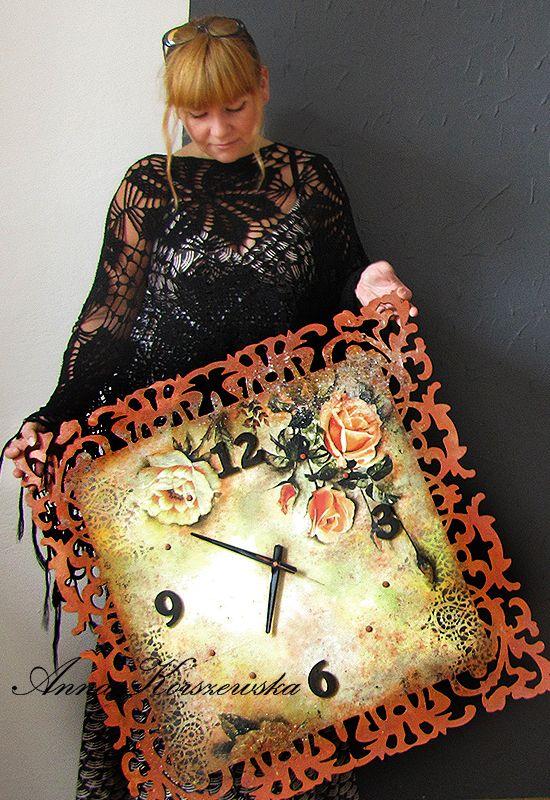 Zegar Różany