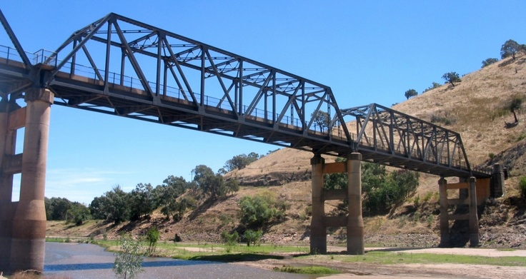 Bridge over the Murrumbidgee, NSW, not far from Wee Jasper.