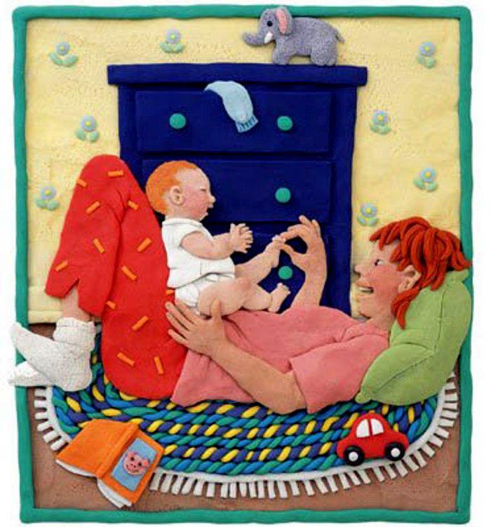 Barbara Reid. Plasticine illustrations.