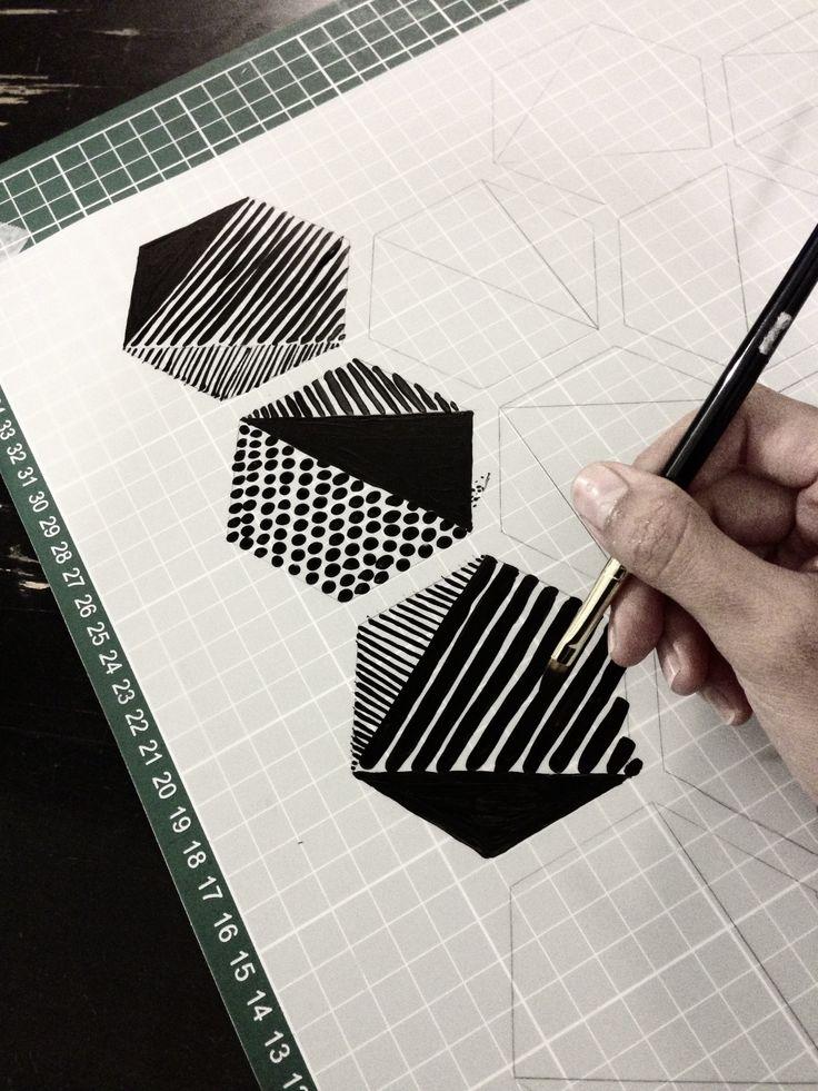 Hexagonal doodeling                                                       …