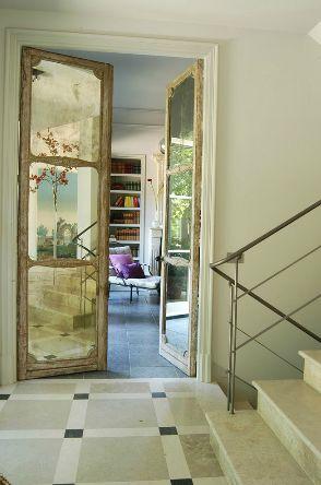 17 mejores ideas sobre puertas de armario con espejos en for Espejo para puerta